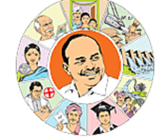 YSR Statues photo gallery in ysrcp plenary