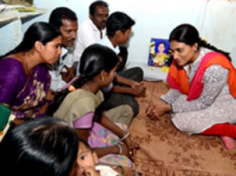 YS Sharmila consoles 7 Families on 1st Day | YSR Congress Party