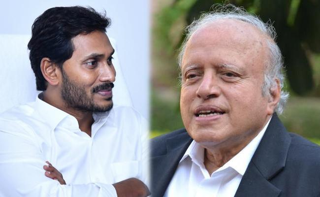 Image result for AP CM <a class='inner-topic-link' href='/search/topic?searchType=search&searchTerm=JAGAN' target='_blank' title='click here to read more about JAGAN'></div>jagan</a> with Agriculture Scientist MS Swaminathan