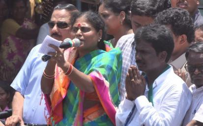 YS Vijayamma Puthalapattu Election campaign Photo Gallery - YSRCongress