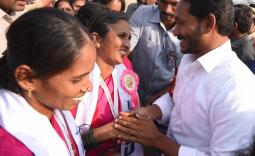 PrajaSankalpaYatra Day 333 2018-12-30 - YSRCongress