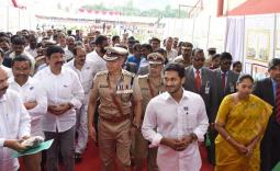 AP CM YS Jagan at Police Martyrs Commemoration day Photo Gallery - YSRCongress
