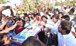PrajaSankalpaYatra Day 335 2019-01-01 - YSRCongress