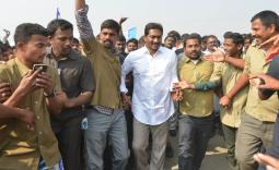 Praja Sankalpa Yatra, Day 337 Photo Gallery  - YSRCongress