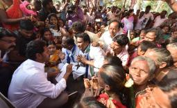 Praja Sankalpa Yatra 340 Day Photo Gallery 1-8-2019 - YSRCongress