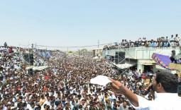 YS Jagan Election campaign Day-2 Photo Gallery  - YSRCongress