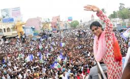 YS Sharmila Bapatla Election campaign Photo Gallery - YSRCongress