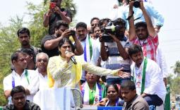 YS Sharmila Denduluru Election campaign Photo Gallery - YSRCongress