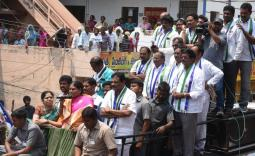 YS Vijayamma Gajapathinagaram Election campaign Photo Gallery - YSRCongress