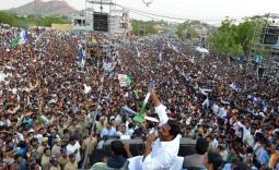 YS Jagan Kalyanadurgam Election campaign Photo Gallery - YSRCongress