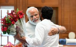 YS Jaganmohan Reddy meets PM Modi Photo Gallery - YSRCongress