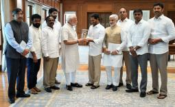 YS Jaganmohan Reddy meets PM Modi Photo Gallery - YSRCongress