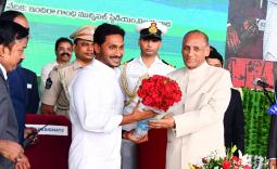 YS Jagan Takes Oath As AP CM Photo Gallery - YSRCongress
