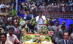 YS Jagan Takes Oath As AP CM Photo Gallery - YSRCongress