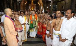 PM Modi & AP CM Jagan visit Tirumala Photo Gallery - YSRCongress