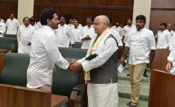 Tammineni Seetharam elected as AP Assembly Speaker Photo Gallry - YSRCongress