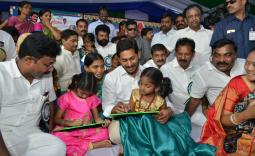 AP CM YS Jagan Attends Rajanna Badibata programme Photo Gallery - YSRCongress
