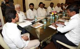 YSRCP Parliamentary Party Meeting Photo Gallery - YSRCongress