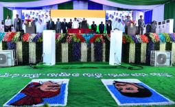 AP CM YS Jagan Cabinet Ministers Oath Taking Ceremony Photo Gallery - YSRCongress