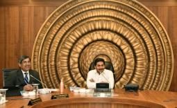 AP CM YS Jagan Cabinet Meeting With Ministers Photo Gallery  - YSRCongress