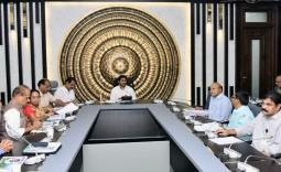 AP CM YS Jagan review meeting with Agriculture Department, Horticulture Department  officials Photo Gallery - YSRCongress