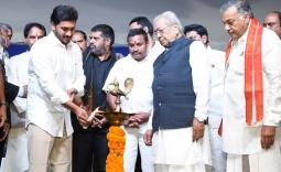 CM YS Jagan at AP Formation Day Celebrations in Vijayawada Photo Gallery - YSRCongress