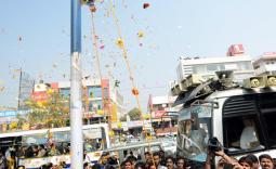 గ్రేటర్ హైదరాబాద్ పరిధిలో షర్మిల పరామర్శయాత్ర