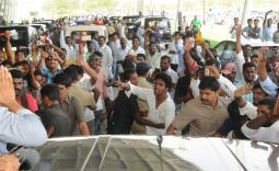 YS Jagan consoles Erpedu Victims