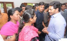 YS Jagan tour in Pulivedula