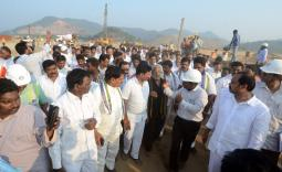 Polavaram: Team of YSRCP Leaders visited Polavaram project